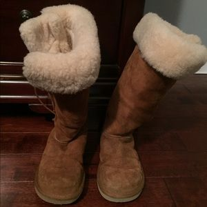 Women S Ugg Lace Up Tall Boots On Poshmark
